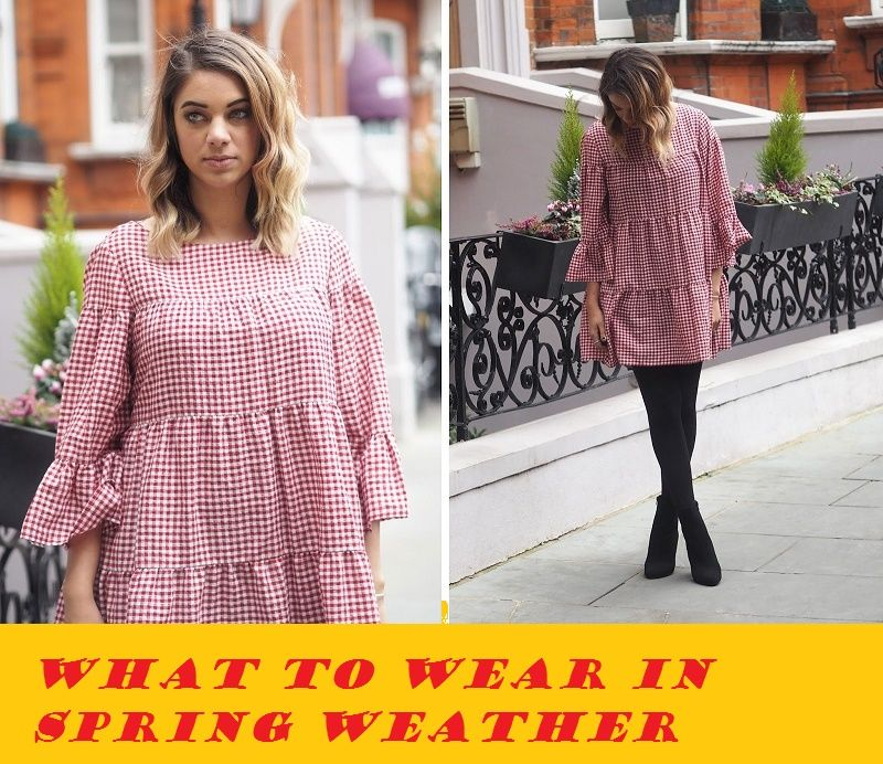 what to wear in spring weather