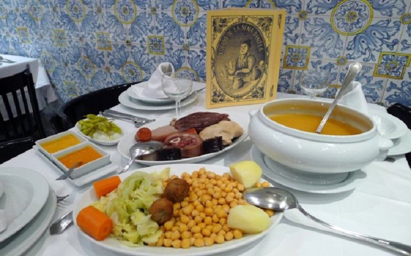 discover food of Madrid