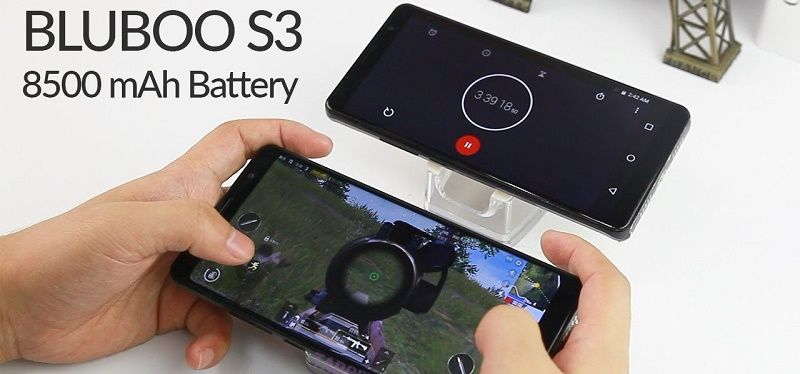 battery of the Bluboo S3 image