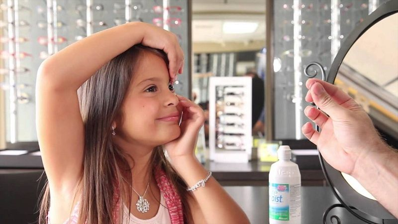 Can Children Wear Contact Lenses?
