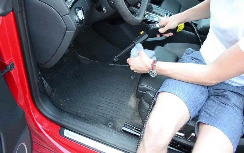 best clean the car seats