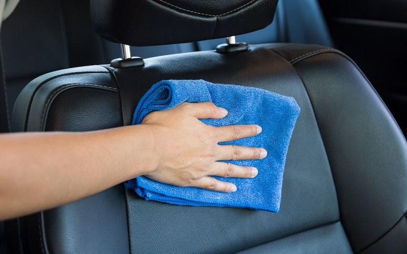 discover clean the car seats