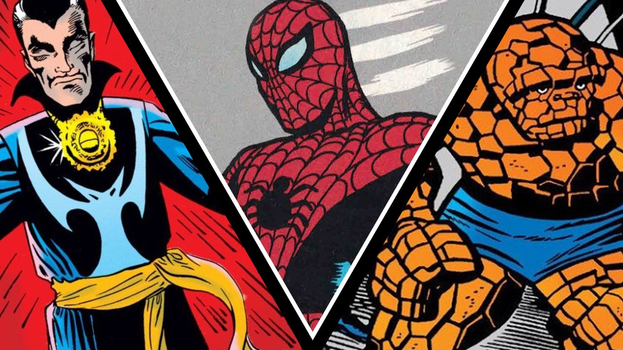 10 famous characters created by Stan Lee
