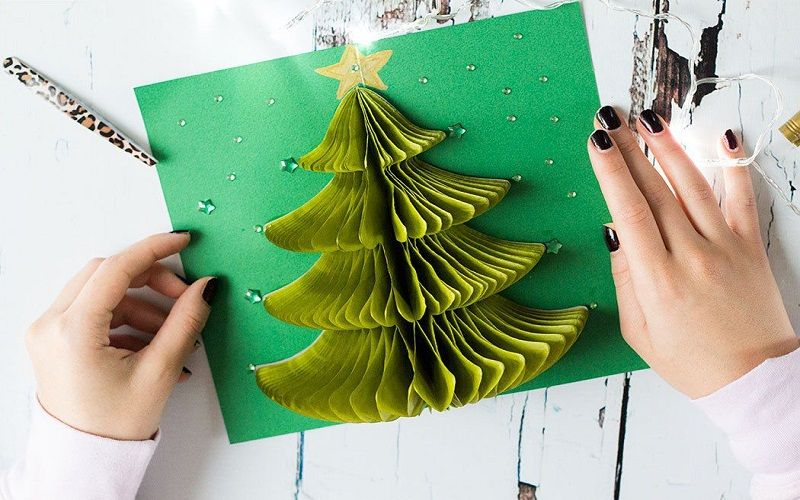 best decorate Christmas postcards