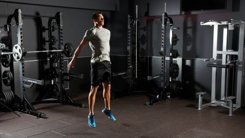 Squats with jump