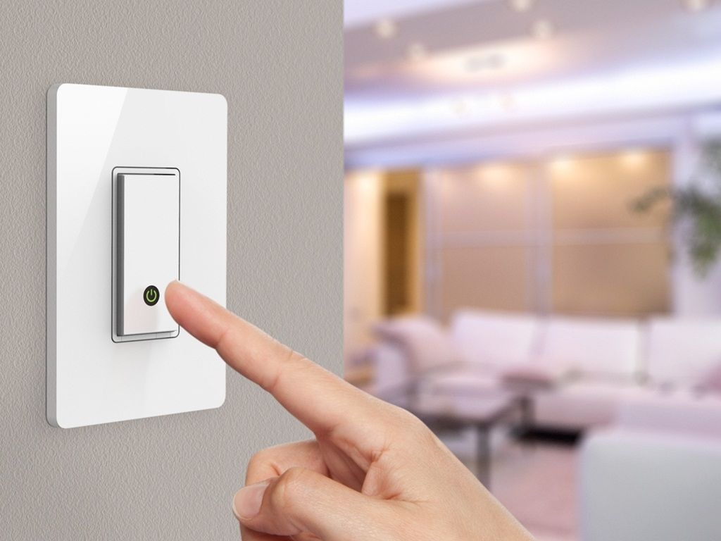 Installation process of light switch