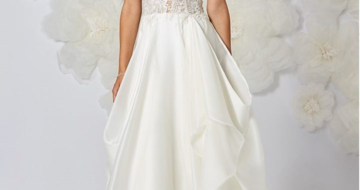 The 5 most popular fabrics for wedding dresses
