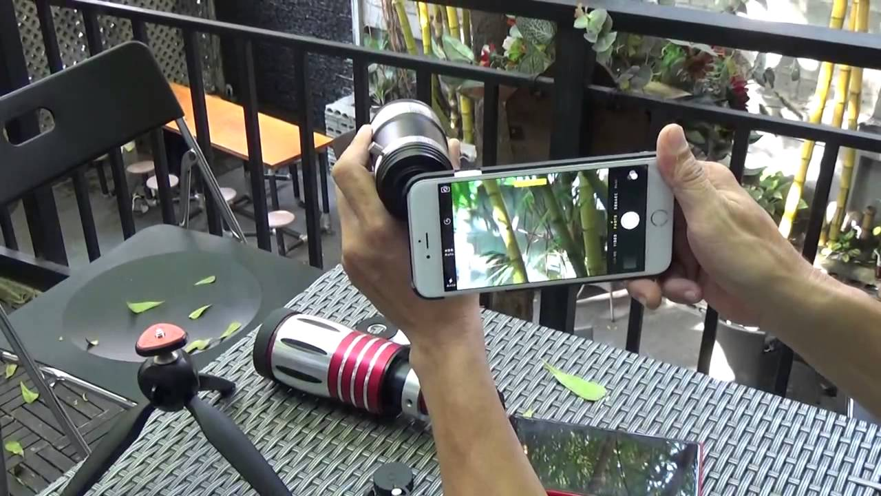 Photographic lens for smartphones