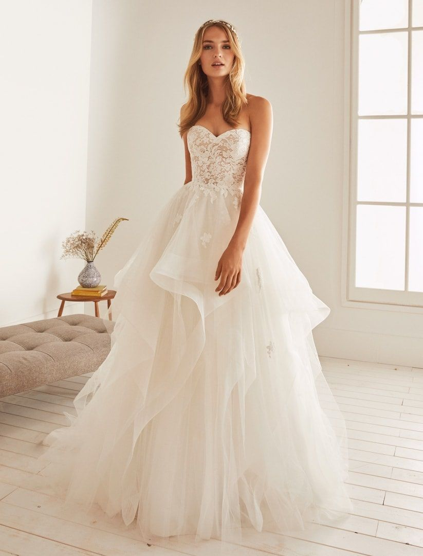 The 5 most popular fabrics for wedding dresses