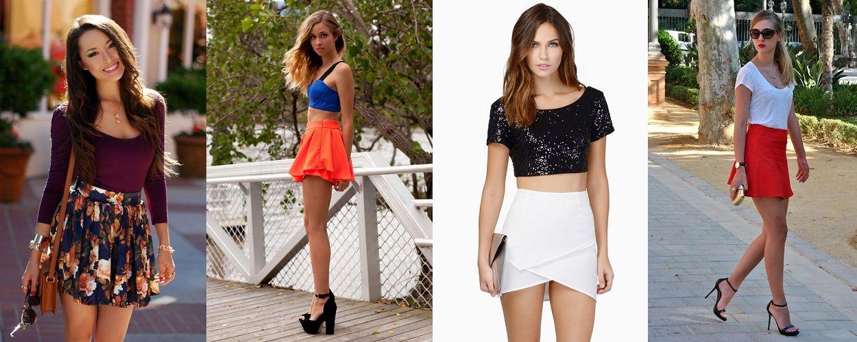 wear short skirts