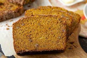 SWEET PUMPKIN BREAD, GREAT!