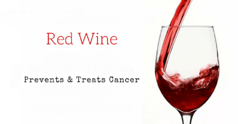 red wine for cancer