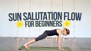 sun salutation for beginners