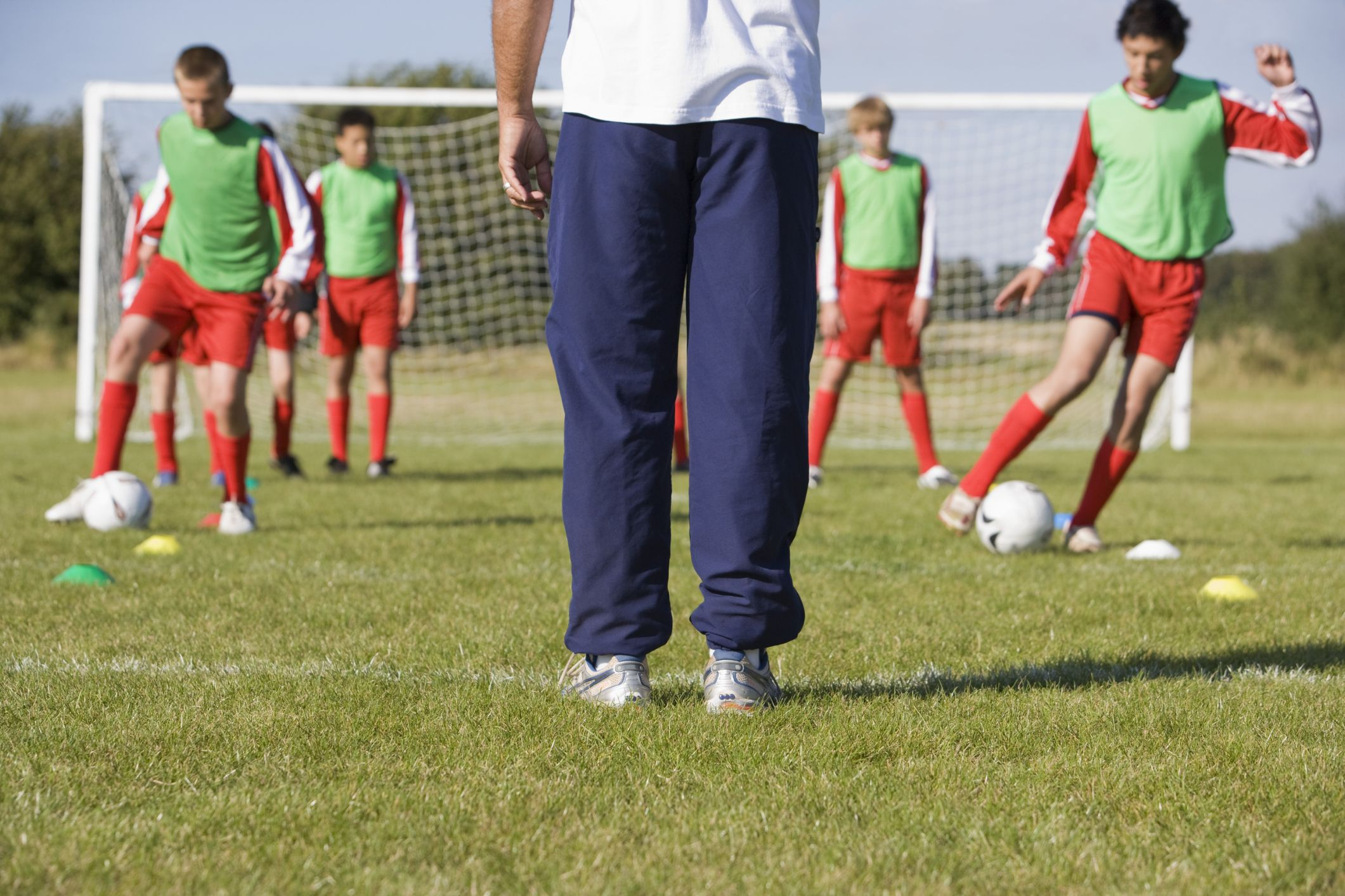 How to be a soccer coach