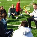 How to be a soccer coach within short time
