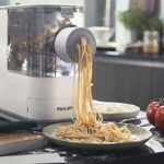 Using electric pasta machine is much easier than using the manual one