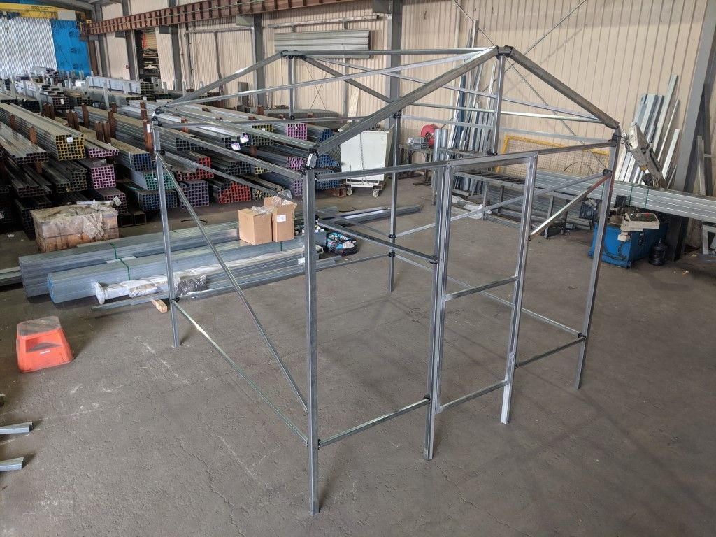 How to build a metal shed
