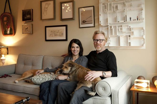 adam savage wife