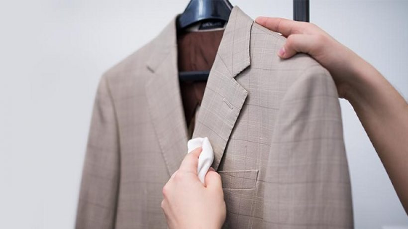 How to wash suit at home?