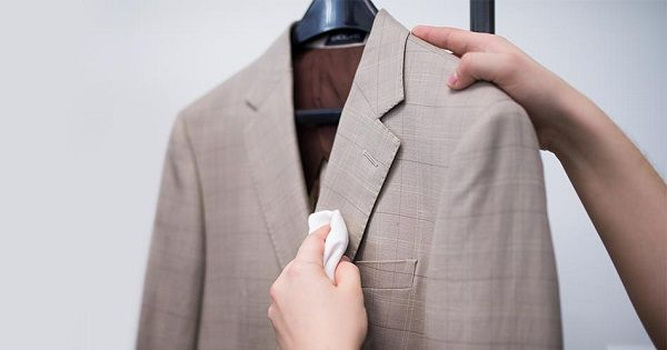 how to wash suit